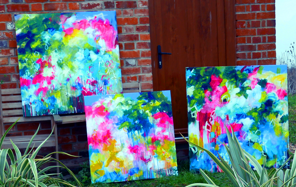 New abstract paintings