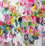 Caroline Hulse abstract paintings